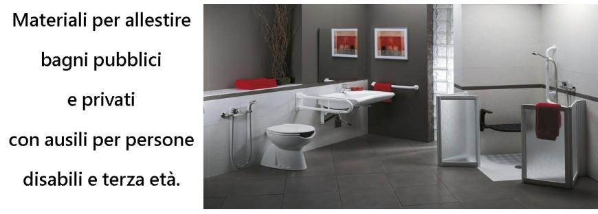 Sanitari disabili rivendita ausili per disabili bagno maniglioni barre di sostegno e sedili - Ausili per disabili bagno ...