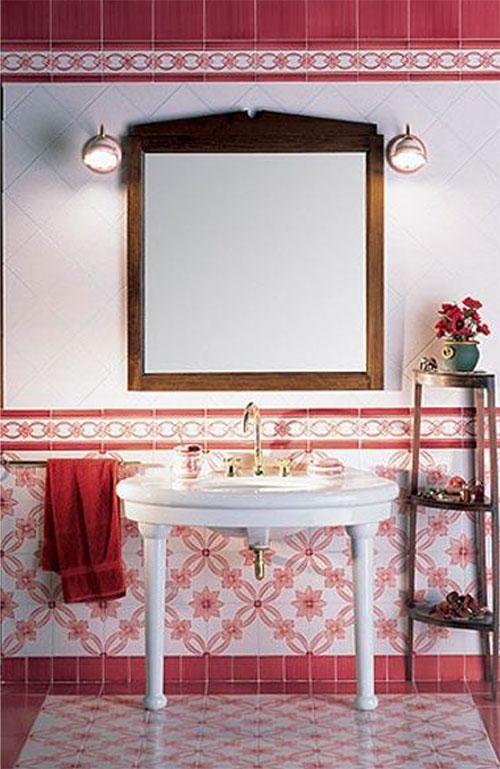 Idee per arredare il bagno - Bagno romantico ...