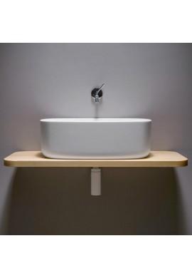 EVER BOUNCE lavabo in poliuretano con mensola faggio