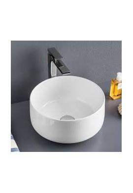 ARTCERAM - COGNAC  35 LAVABO APPOGGIO bianco e colorato