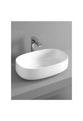 ARTCERAM - COGNAC  55 LAVABO APPOGGIO bianco e colorato