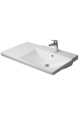 DURAVIT P3 CONFORTS  ASIMMETRICO DX lavabo consolle 850 bordo rubinetteria