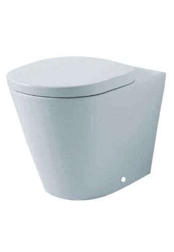 Sedile Wc Disabili Ideal Standard.Ideal Standard Tonic K3112 Vaso A Terra Filo Parete Con Sedile