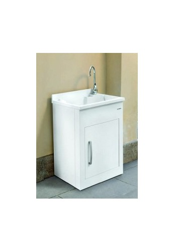 Lavabo In Ceramica Per Esterno.Montegrappa Lavatoio Per Esterno Still L 60 X P 50 X H 85 Vasca E