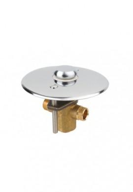 IDRAL - 02115 - Rubinetto a pulsante da incasso a pavimento