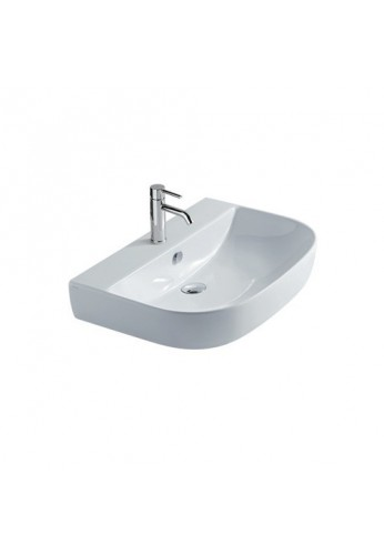 Galassia m2 lavabo cm 70 monoforo predisposto 3 fori for Cambiare tavoletta wc sospeso