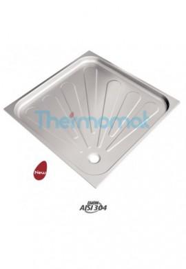 THERMOMAT 2060 PIATTO DOCCIA ACCIAIO INOX-