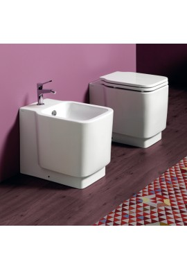 SIMAS - FLOW WC VASO QUADRATO CARENATO